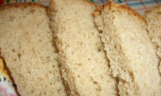 Wheat-rye bread with a mixture of flakes