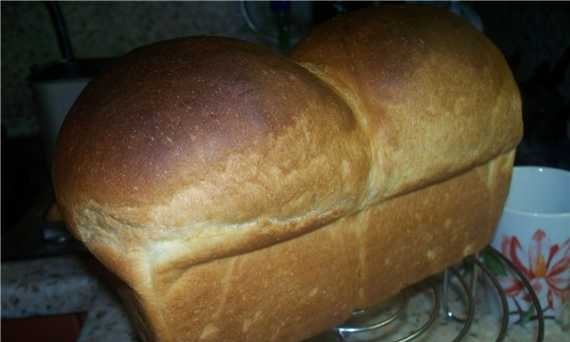 Brewed wheat bread (oven)