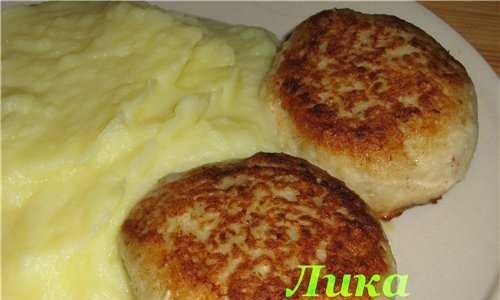 Pike fish cakes