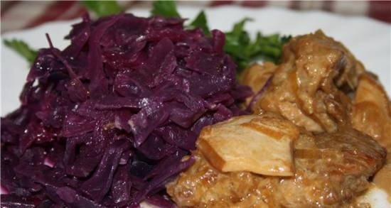 Czech red cabbage