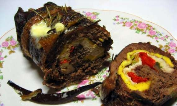 Goose breast roll