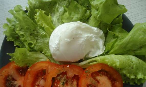 Poached eggs (master class)