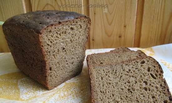 Rye-wheat bread for every day