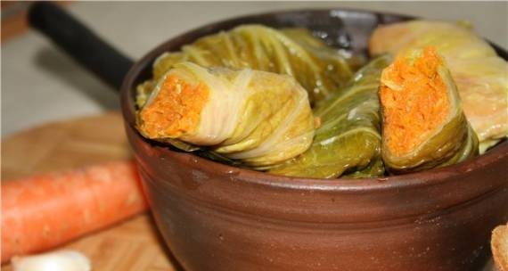 Pickled cabbage rolls
