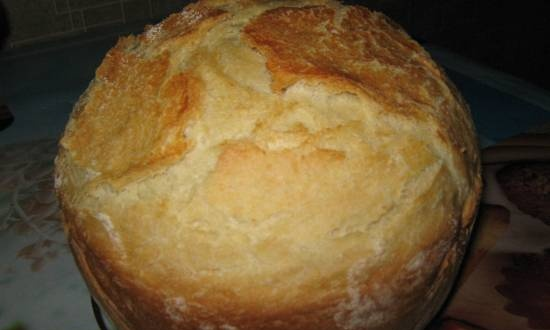 Bread loaf from the pan (oven)