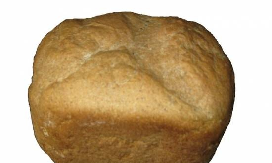 Black bread (Darnitsky taste) for those who have not acquired scales (bread maker)