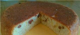 Mannik without flour and oil (multicooker Perfezza)