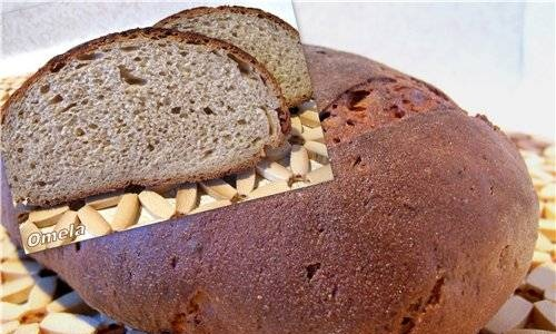 Sour cream bread with sourdough anise