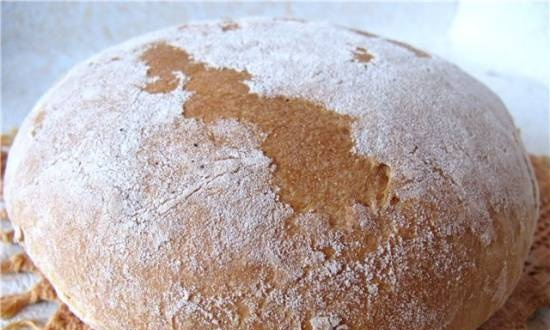 """Brewed bread """"Carolina"""" with rice flour (oven)"""