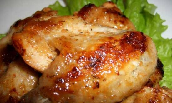 Chicken wings with sweet and sour sauce