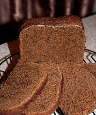 Moscow-style rye bread in a bread machine