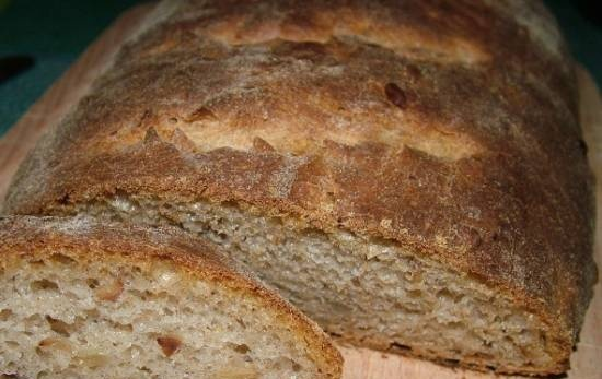 Fragrant bread with sunflower seeds (oven)