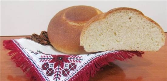 Slavic Arnauts buns in accordance with GOST (oven)