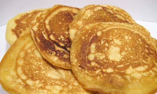Pimento pancakes by O. Henry