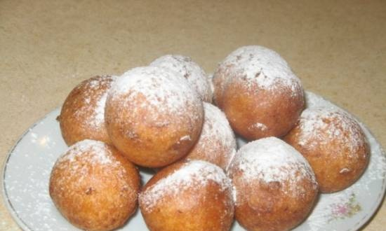 Cottage cheese donuts GOST