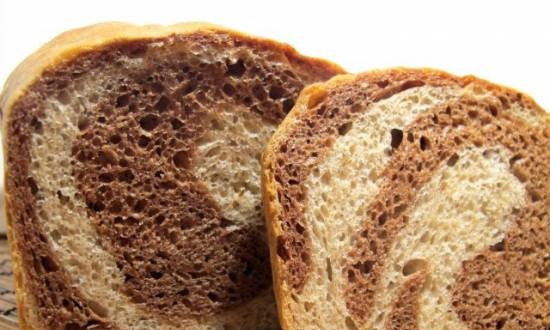 """Wheat-rye bread """"MARBLE"""" (oven)"""