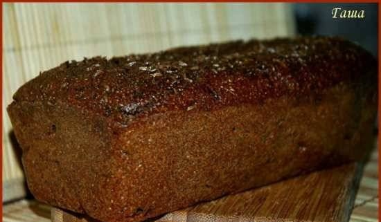 Spicy Latvian bread according to GOST