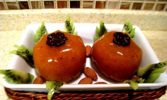 """Persimmon jelly """"Food of the Gods""""."""