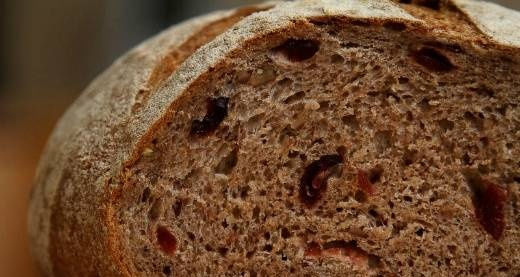 Bread with cranberries and pecans (oven)