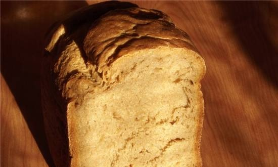 Wheat-rye on beer - it couldn't be easier! (bread maker)