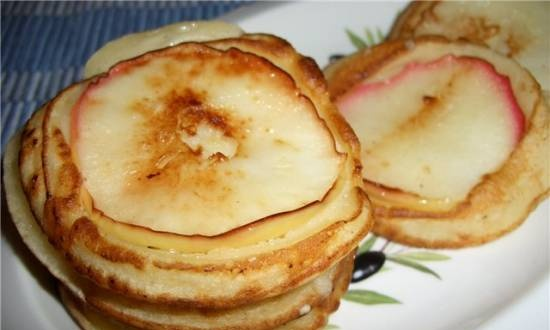Pancakes in a different manner