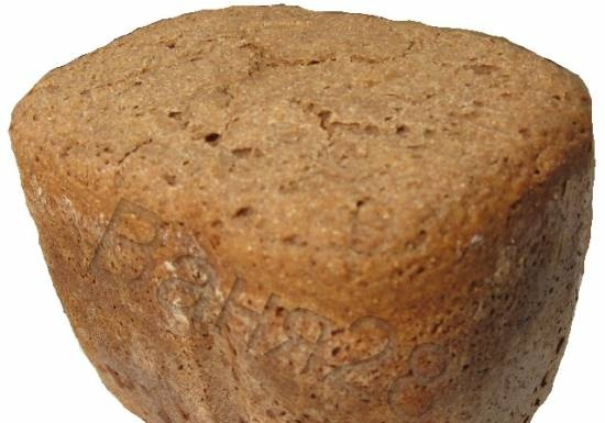 Rye bread with caraway seeds and coriander