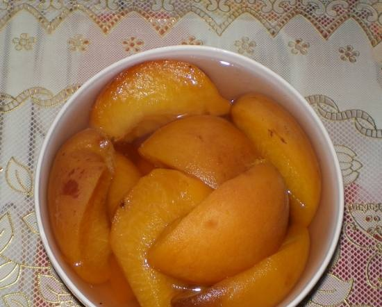 Peaches in syrup in a Panasonic SD-2501 bread maker