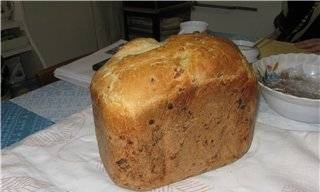 Moulinex. White bread with onions.