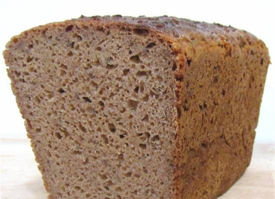 Lithuanian rye bread with caraway seeds (oven)