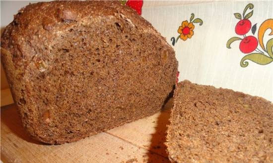 Borodinsky Moscow bread (the simplest and fastest recipe)