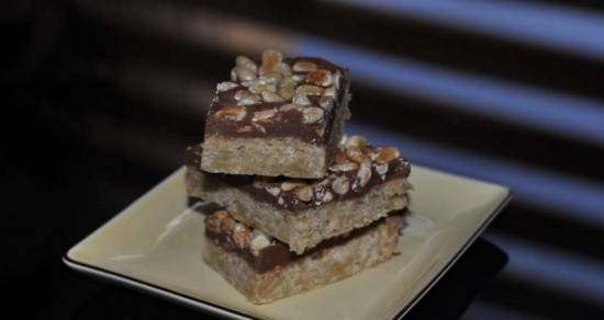 Chocolate squares / Toffee Bars