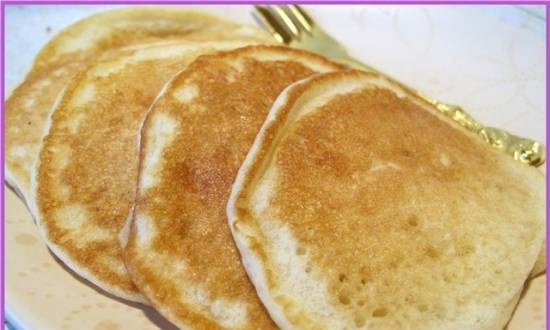 Air fritters (without eggs)