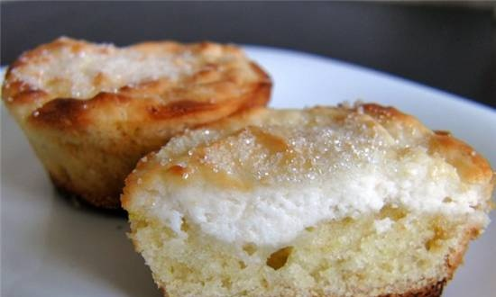 Muffins with cottage cheese