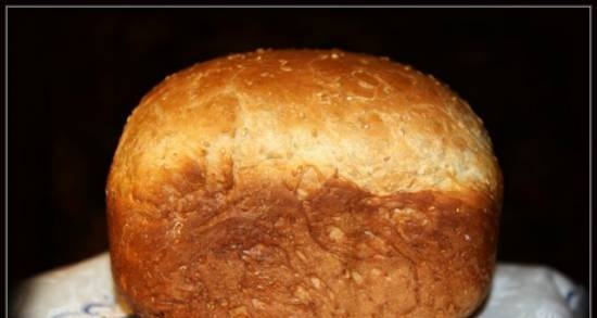 Wheat with sesame seeds (bread maker)