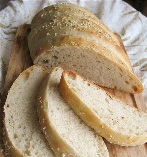 Salted Canadian bread