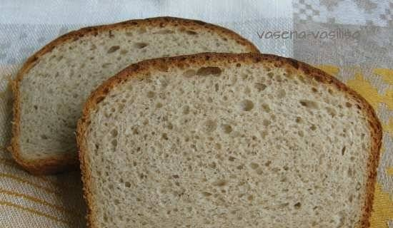 Gray Wheat Bread with Honey Cold Stretch Method