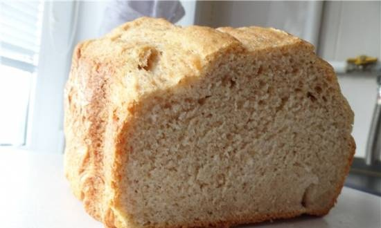 Panasonic SD-2501. Bread with curdled milk
