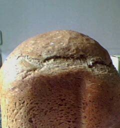 Wheat-linseed bread with onion sourdough
