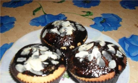 Two-color muffins