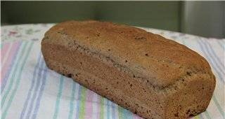 Wheat-rye bread on beer (oven)