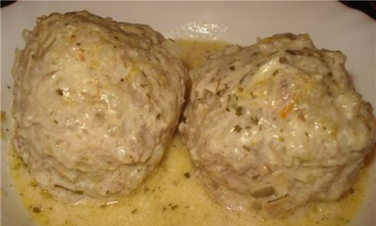 Lazy cabbage rolls (Multicooker Stadler Form Chef One SFC.909)