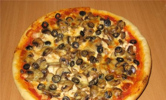 Pizza: 2 options - for my husband and me