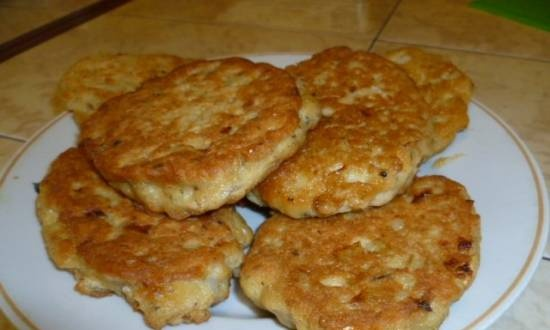 Canned salmon fish cakes