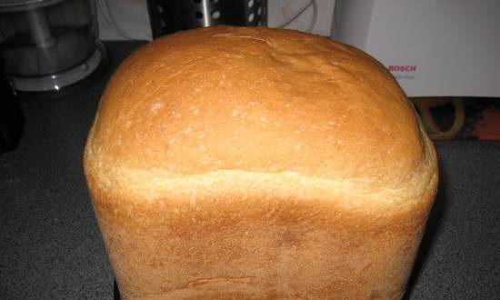 Mustard bread according to GOST