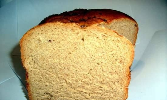 Rye-wheat (rye) bread with beer