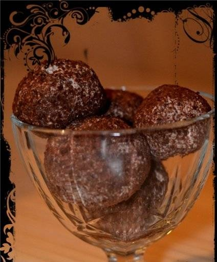 """Cottage cheese sweets """"New Year's Surprise"""""""
