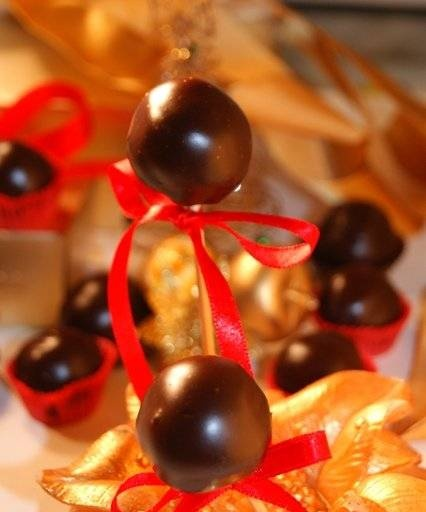 """""""Cherry in chocolate"""" sweets"""