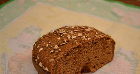"""Wheat-rye bread with sourdough culture """"For every day"""""""