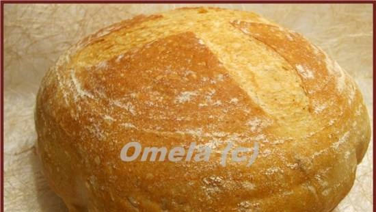 """Wheat bread """"Imperial"""" in the oven"""