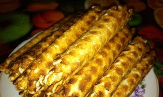 Waffles without eggs (lean)